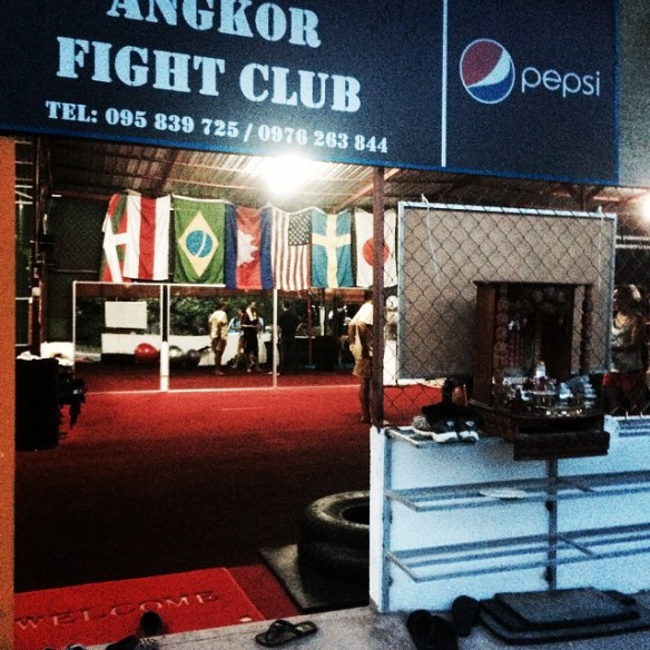 Angkor Fight Club, Siem Reap